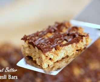 Peanut Butter Vegan Muesli Bars
