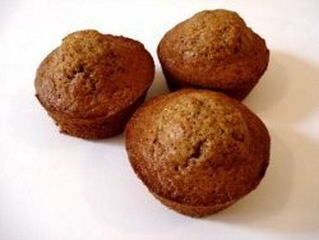 Deceptively Rich Bran Muffins (Low Fat, High Fiber)