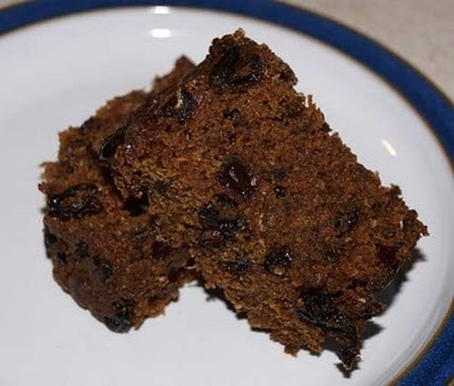 Newfoundland Wartime Cake (dairy and egg free)