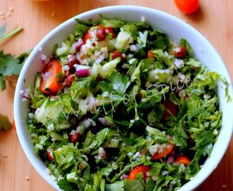 Cracked Wheat Tabbouleh - Leftover Rescue to Lunchtime Staple