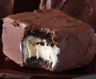 Gelado de Brownie com Sorvete