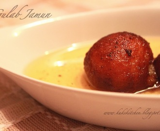 Gulab Jamun {recipe no 2} using khoya(mawa)   |  Kukskitchen
