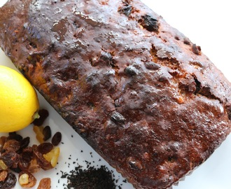 Earl Grey Fruit Tea Loaf Cake