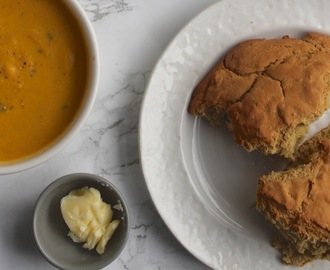 GLORIOUS! SkinnyLicious Soups, and a Simple Gluten Free Soda Bread
