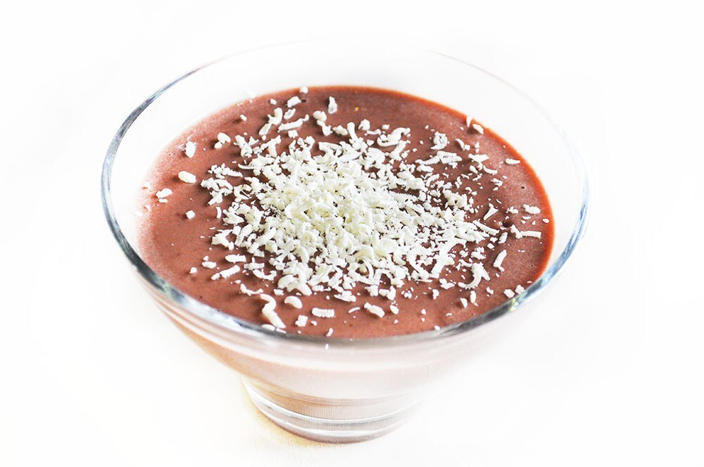 High Protein Chocolate Pudding