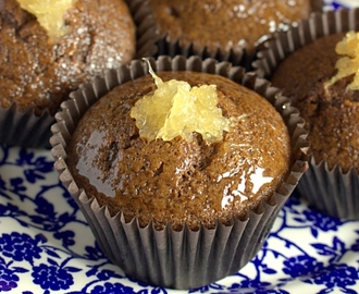 Jamaican Ginger Cupcakes