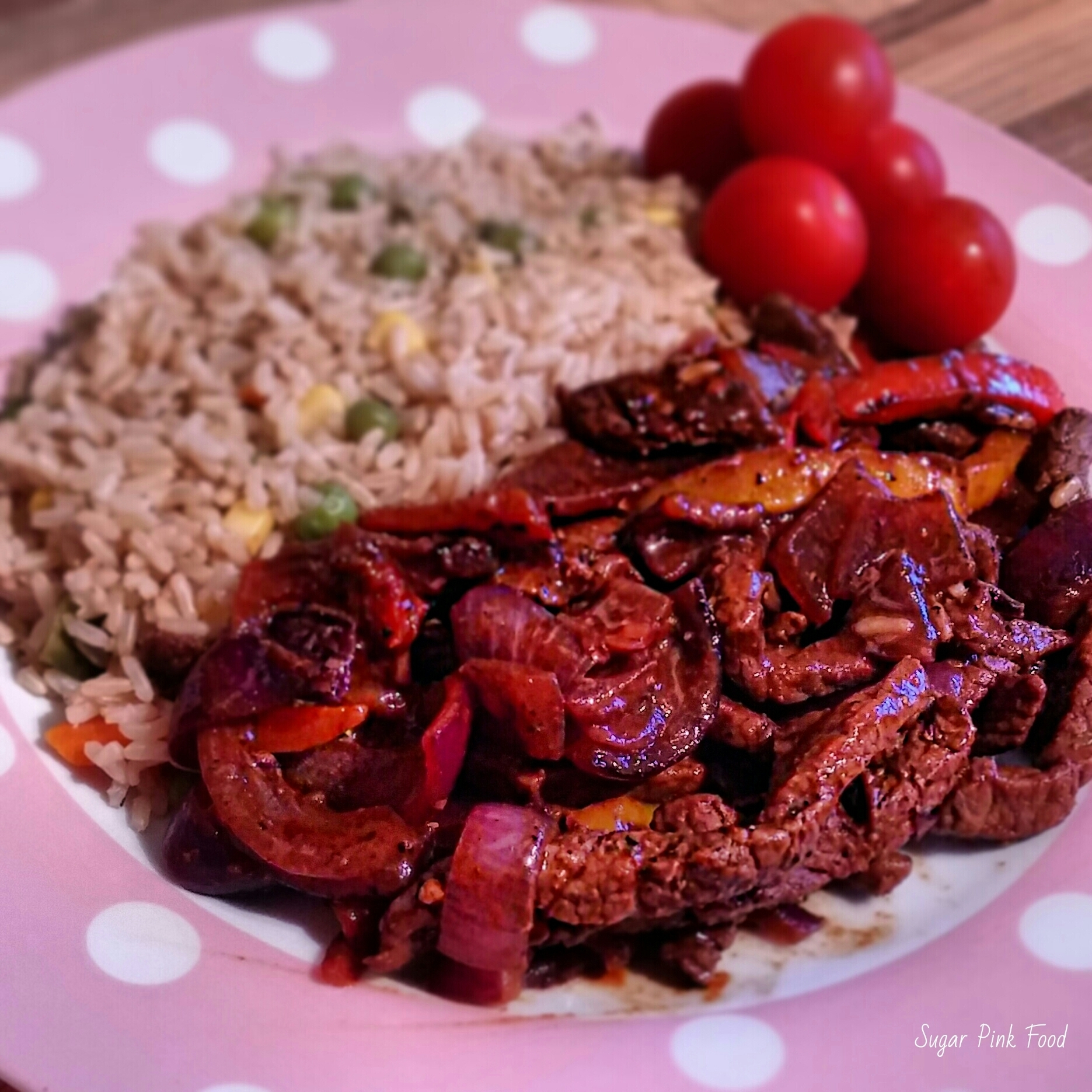 Slimming World Recipe:- Sizzling Beef Fajita Mix