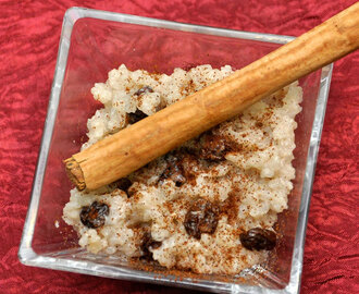 Arroz Con Dulce Recipe