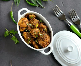 Andhra Spicy Chicken Fry