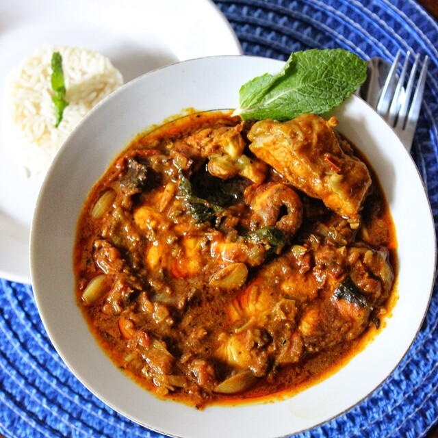 Kerala Style Spicy Red Fish Curry !!!