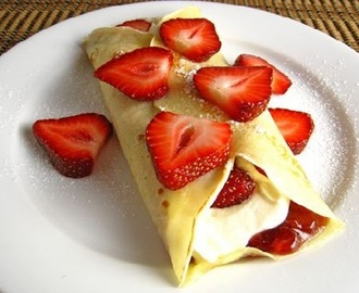 CREPES DOLCI LIGHT ALLE FRAGOLE