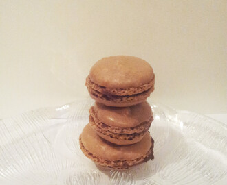 (Recipe) Double Choc Macarons