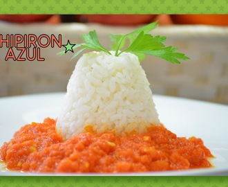 Arroz blanco en Thermomix