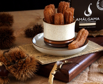 Churros de Castanha {Chestnut Churros}