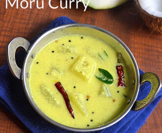 Kerala Moru Curry Recipe With Kumbalanga, Coconut