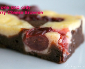 Trust me: this is the ONE AND ONLY Cherry cheese brownie!!!