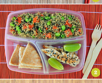 Oh bento! 6 lunchbox ideas.