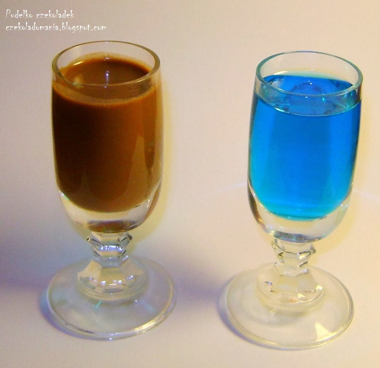 Czekoladowy likier i nalewka ice:) / chocolate and ice liqueur