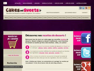 www.cakesandsweets.fr