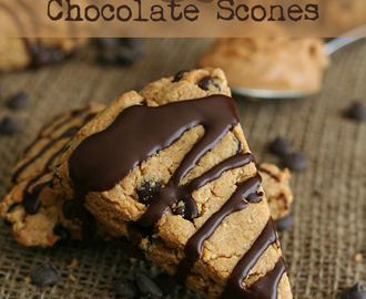Peanut Butter & Chocolate Scones – Low Carb and Gluten-Free
