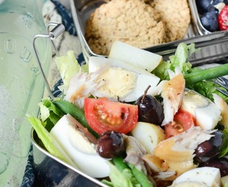 Salad Nicoise With Smoked Mackerel