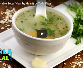 Garlic Vegetable Soup Recipe Video