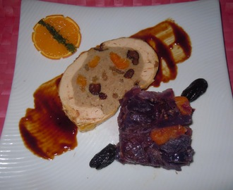 POLLO DE CORRAL RELLENO CON FRUTOS SECOS