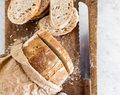 How to bake your sourdough Tuscan bread loaf