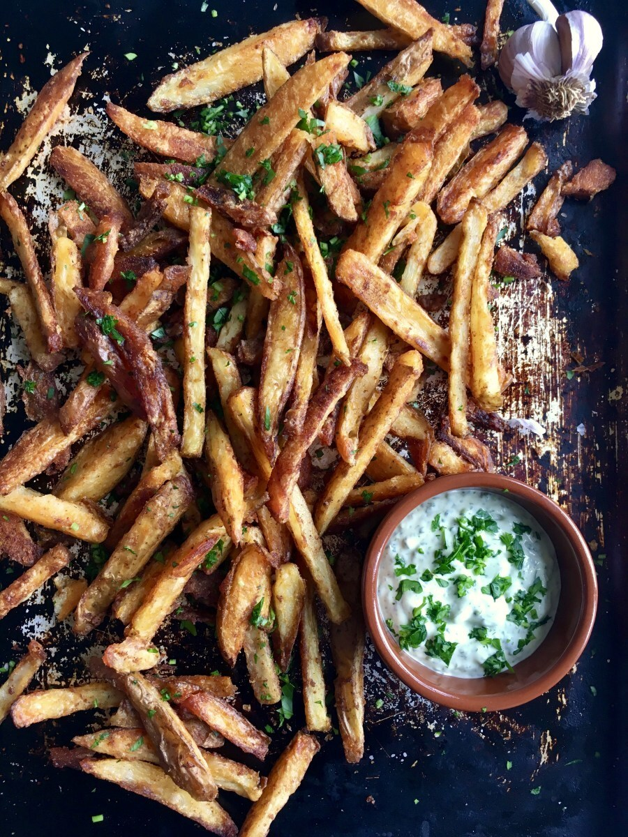 Paprika Fries & Green Ali Oli