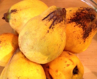 What do with the quince harvest