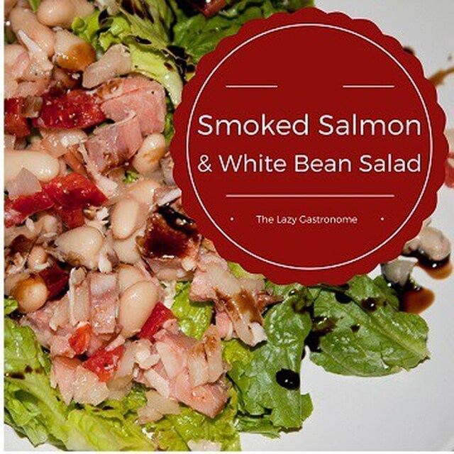 Smoked Salmon & White Bean Salad