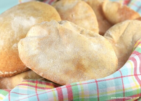 Homemade Pitta Bread Recipe