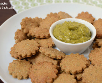 Pesto Cracker