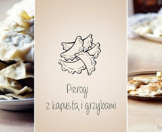 Pierogi z kapustą i grzybami / Dumplings with cabbage and mushrooms