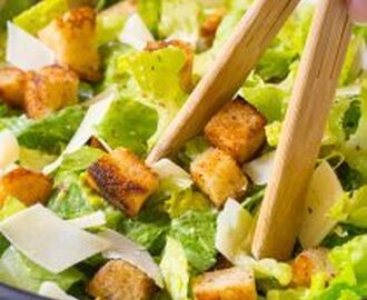 The Best Steakhouse Caesar Salad Recipe