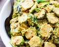 Creamy Mustard Brussels Sprouts Salad (Vegan,Paleo)
