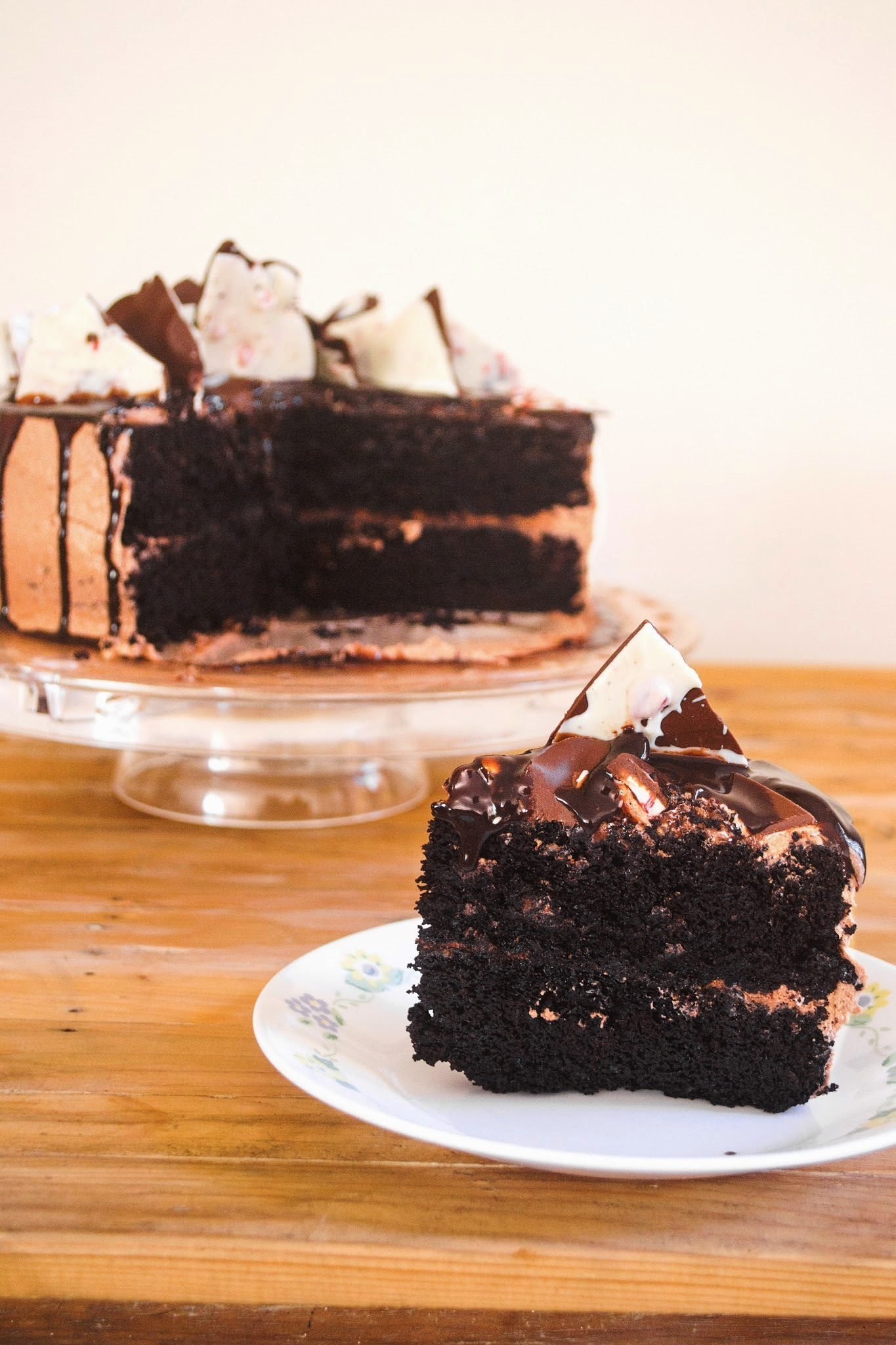 Quadruple (Moist) Chocolate Cake Recipe