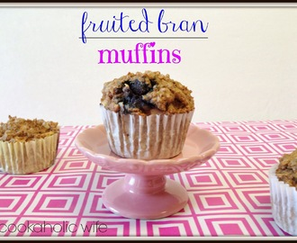 Recipe Remake: from the SRC: Fruited Bran Muffins