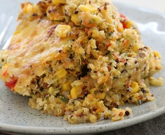 Thermomix Quinoa & Vegetable Bake