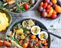 Healthy Vegetarian Meal Plan Week of 10-7-2017