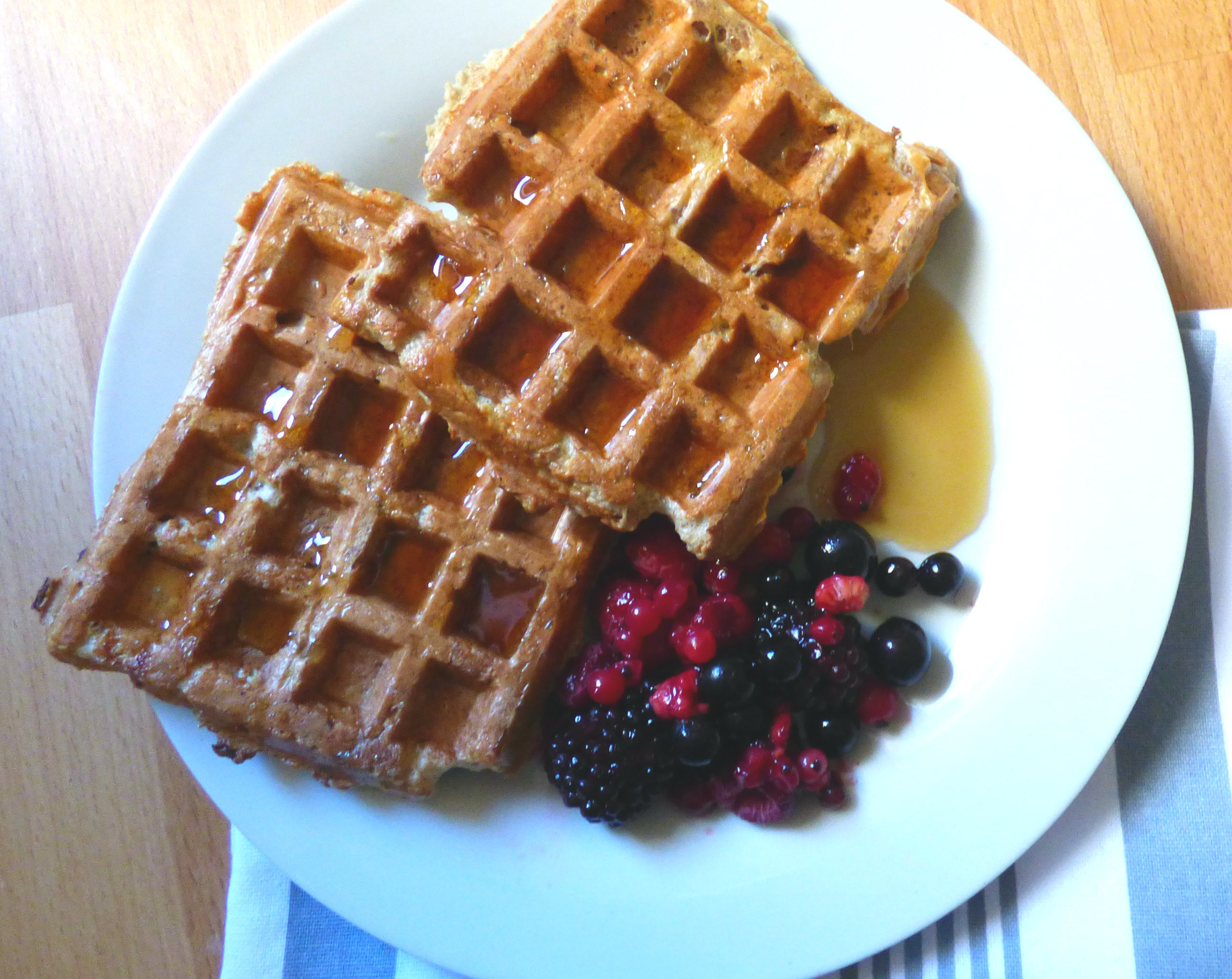 Syn Free French Toast Waffles