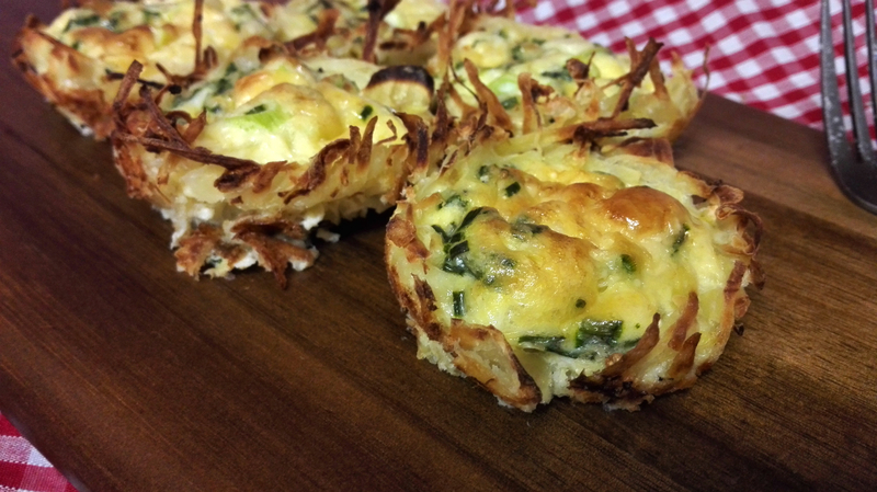 Mini Rosti Quiches