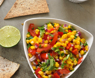 Fresh Mexican Corn Salsa