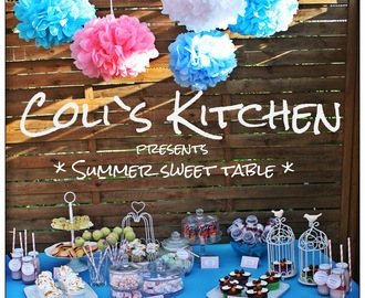 Summer Sweet Table - Cronuts, PushUp Cake Pops, Eiswaffel Cake Pops und rosa Baiserwölkchen