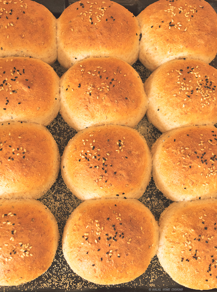 Part-Wholemeal Bread Rolls