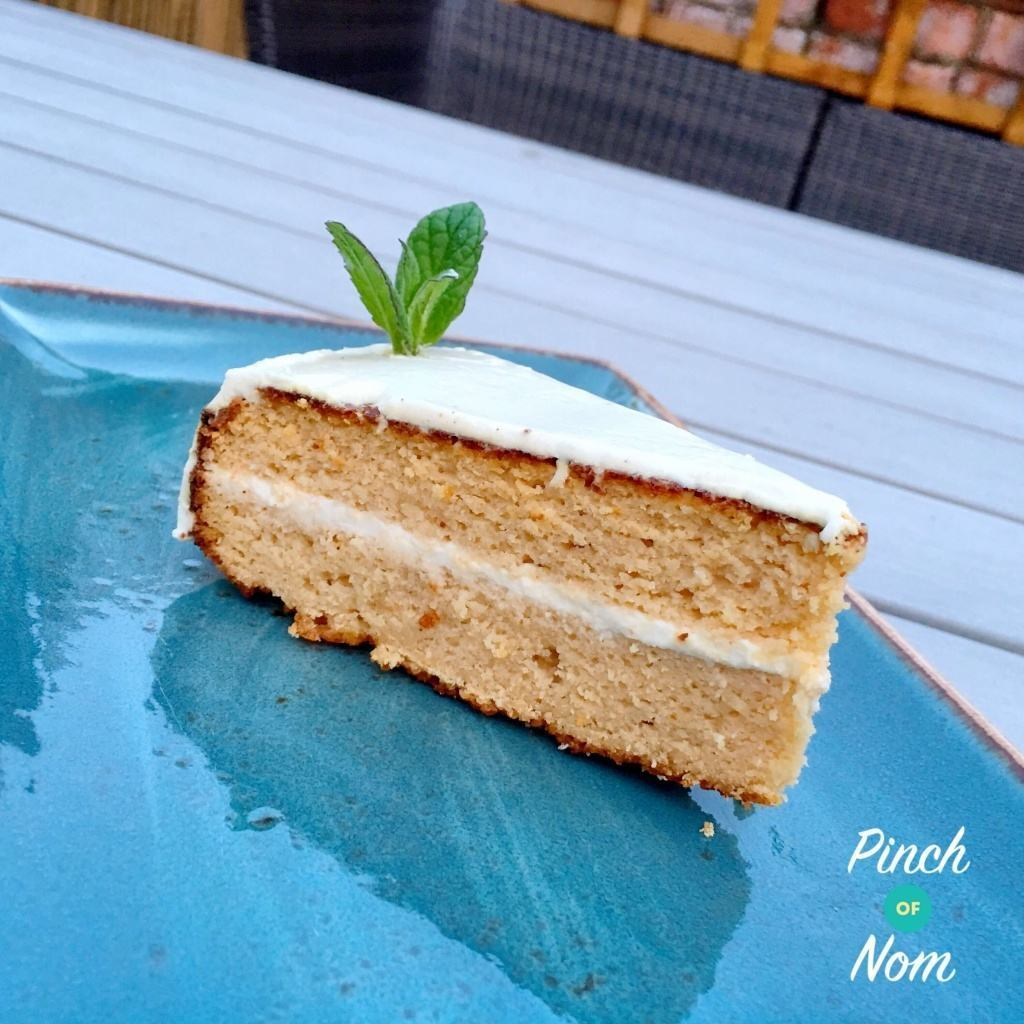 3 Syn a Slice Coconut and Lemon Curd Cake | Slimming World