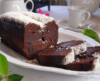 Plum-Cake de chocolate y coco