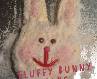 Fluffy Bunny Birthday Cake