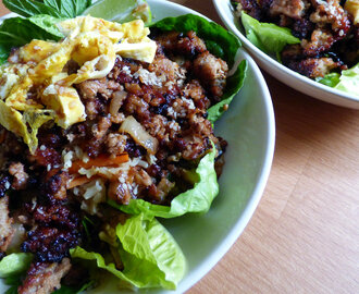 Vietnamese Crispy Pork and Fried Rice Bowls (0.5 syns)