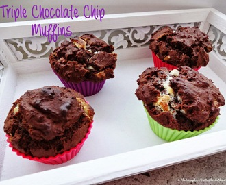 [Delicious Birthday Bakery] Triple Chocolate Chip Muffins & Classic Blueberry Muffins - Part II